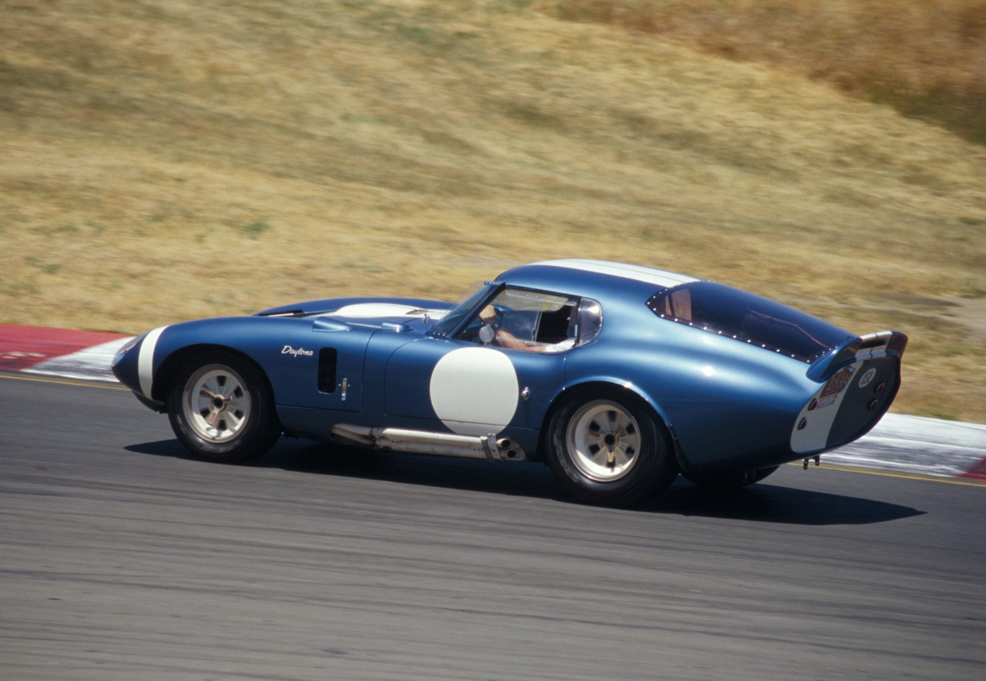 Shelby Daytona Coupe In Motion
