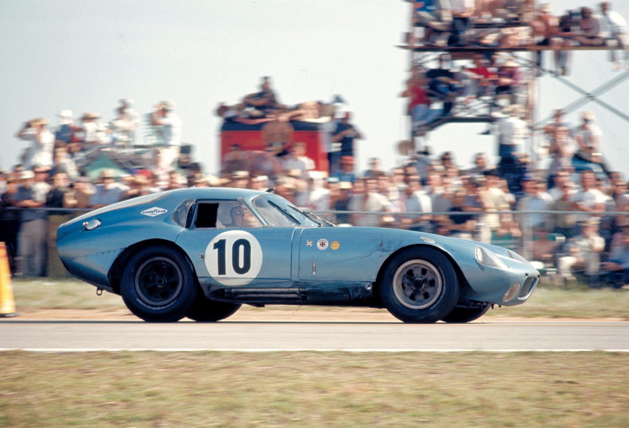 Shelby Daytona Coupe at FIA GT Race Ford Archive