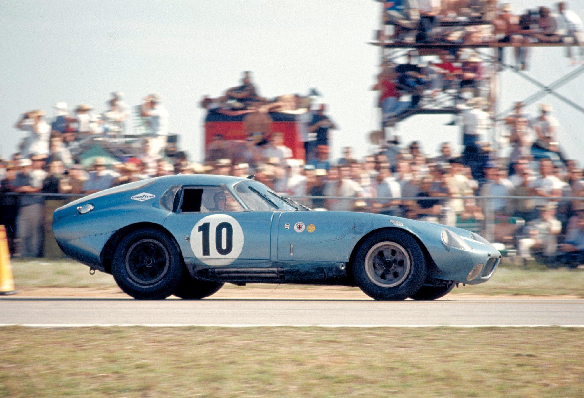 Shelby Daytona Coupe at FIA GT Race Ford Archive
