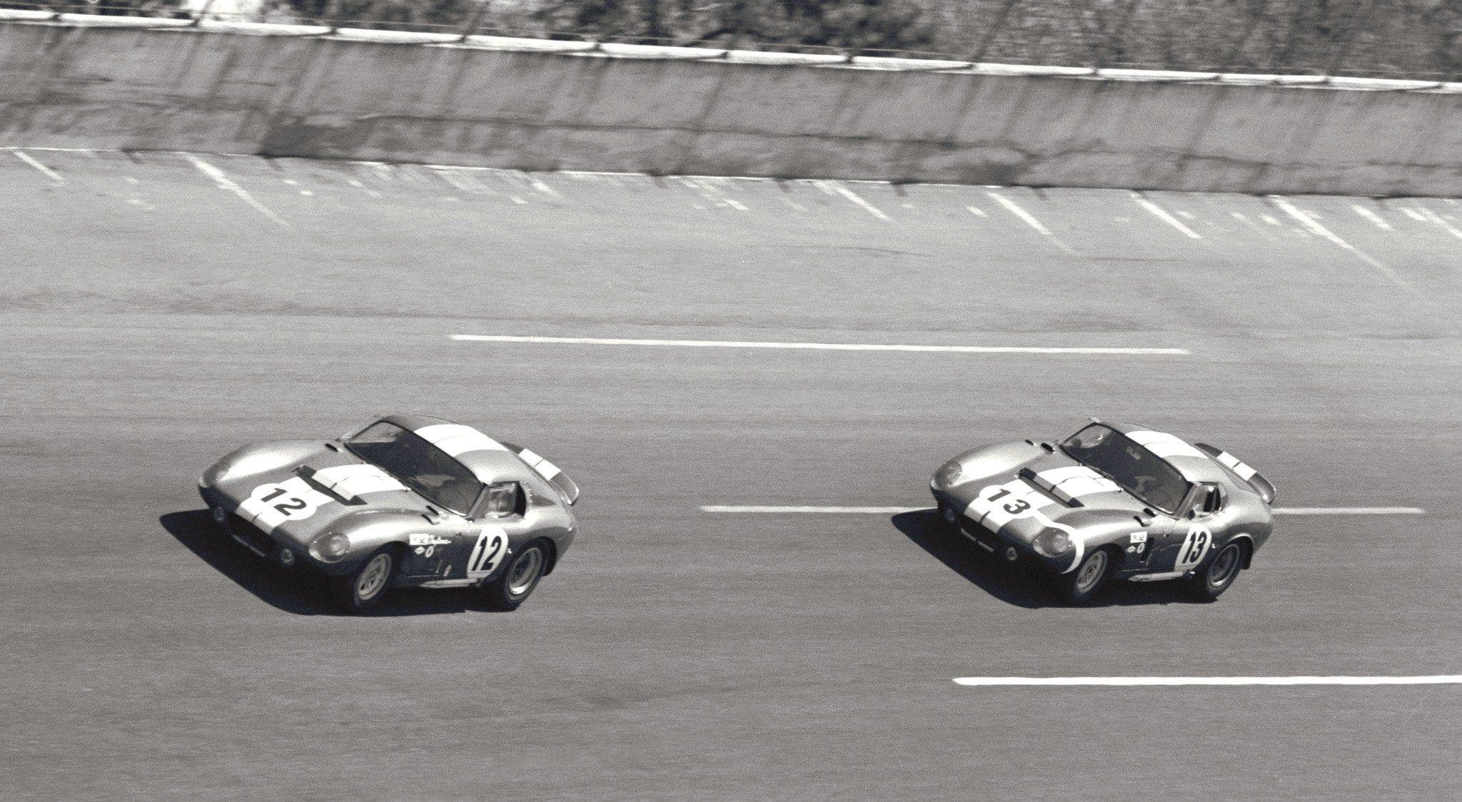 Shelby Daytona Coupes at Sebring 1964