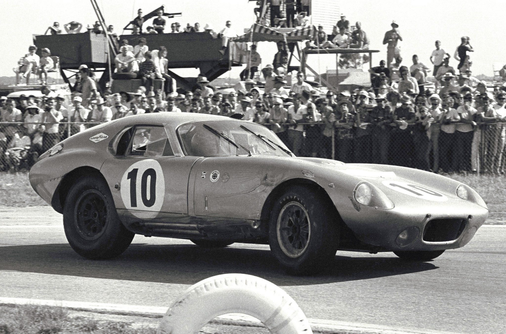 Shelby Daytona at Daytona 1964 Ford Archive