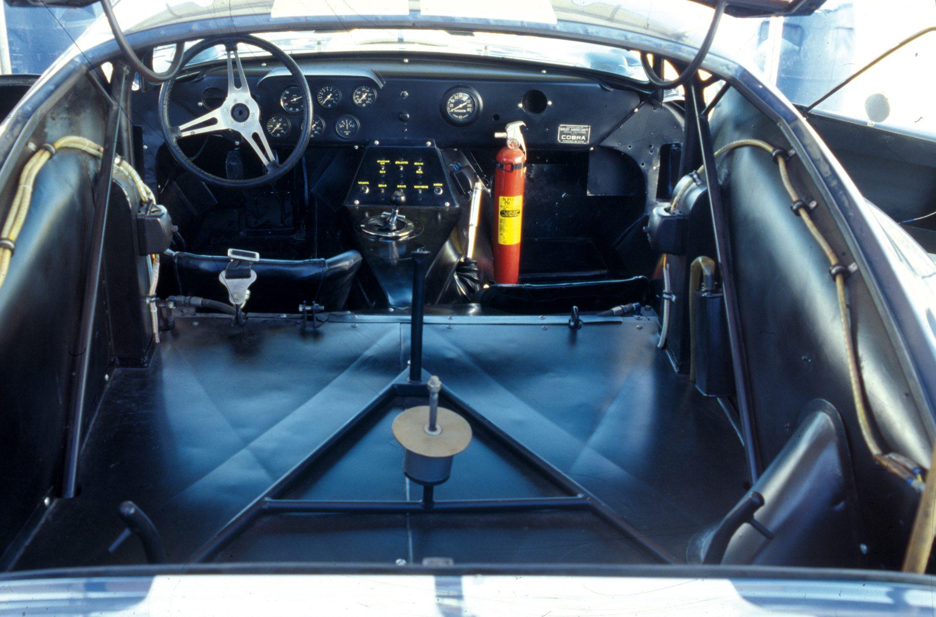 Shelby Daytone Coupe Rear Opened