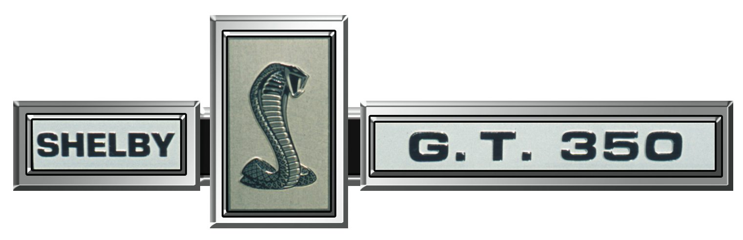 Shelby GT350 Badge