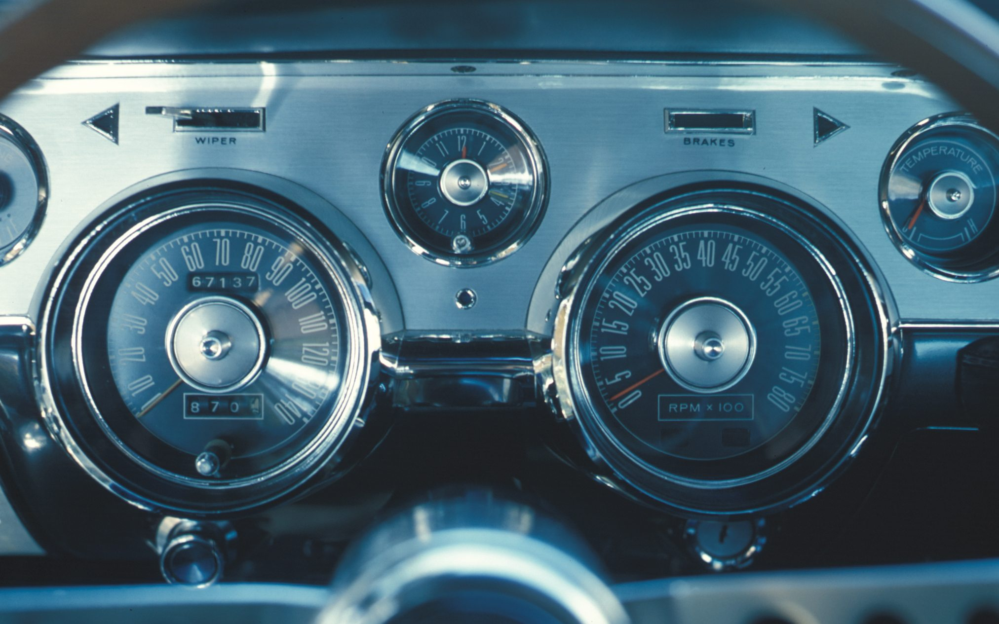 1967 Shelby GT350 Instrument Cluster