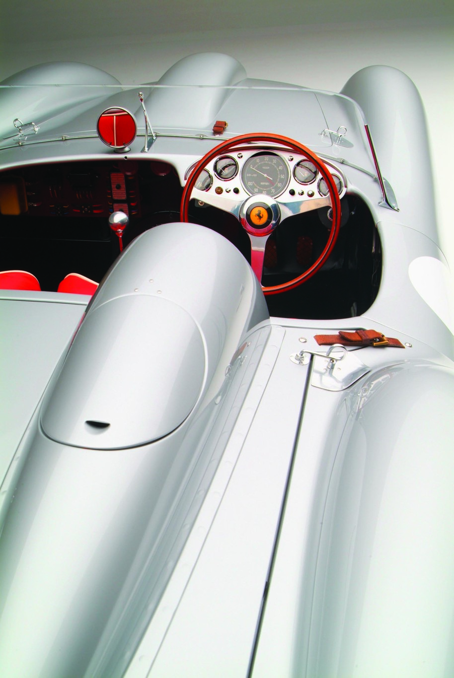 1957 Ferrari Testa Rossa Interior and Dashboard