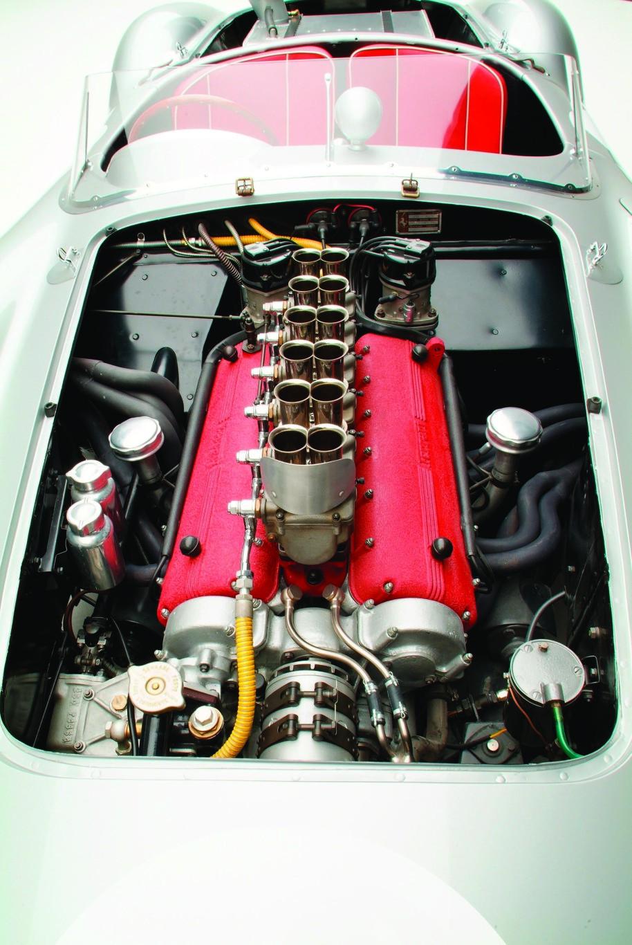 1957 Ferrari Testa Rossa V12 Engine