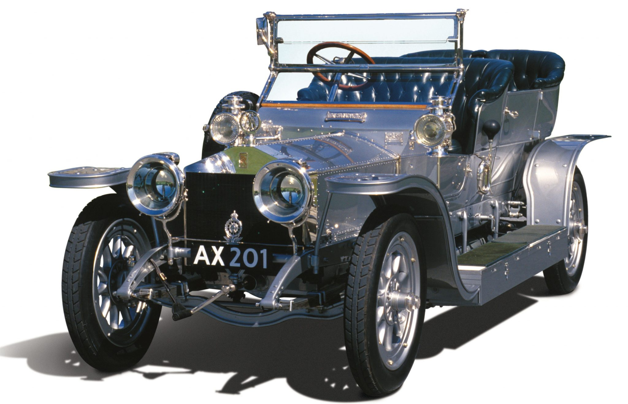 The First Rolls-Royce Silver Ghost