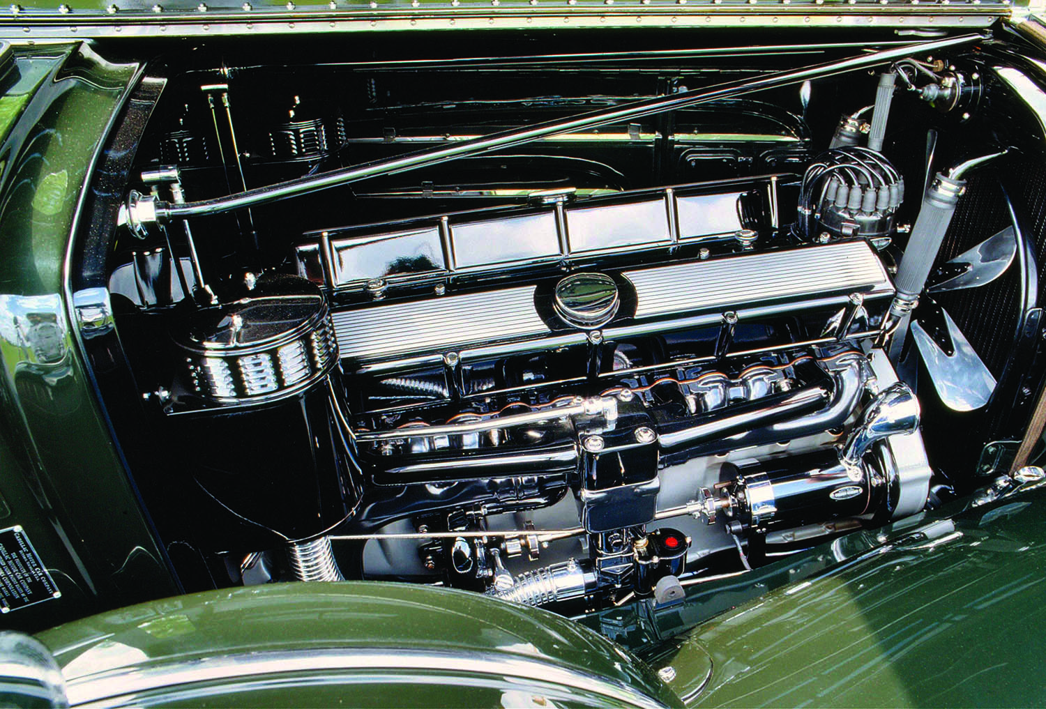 V Cadillacs on 1940 Cadillac V8 Engine