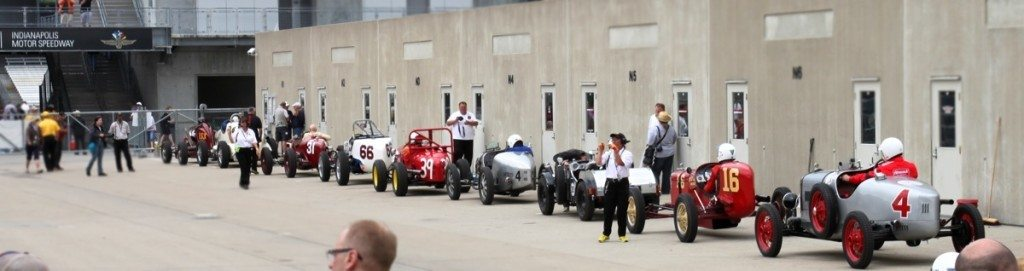 Vintage Race at Indianapolis Motor Speedway