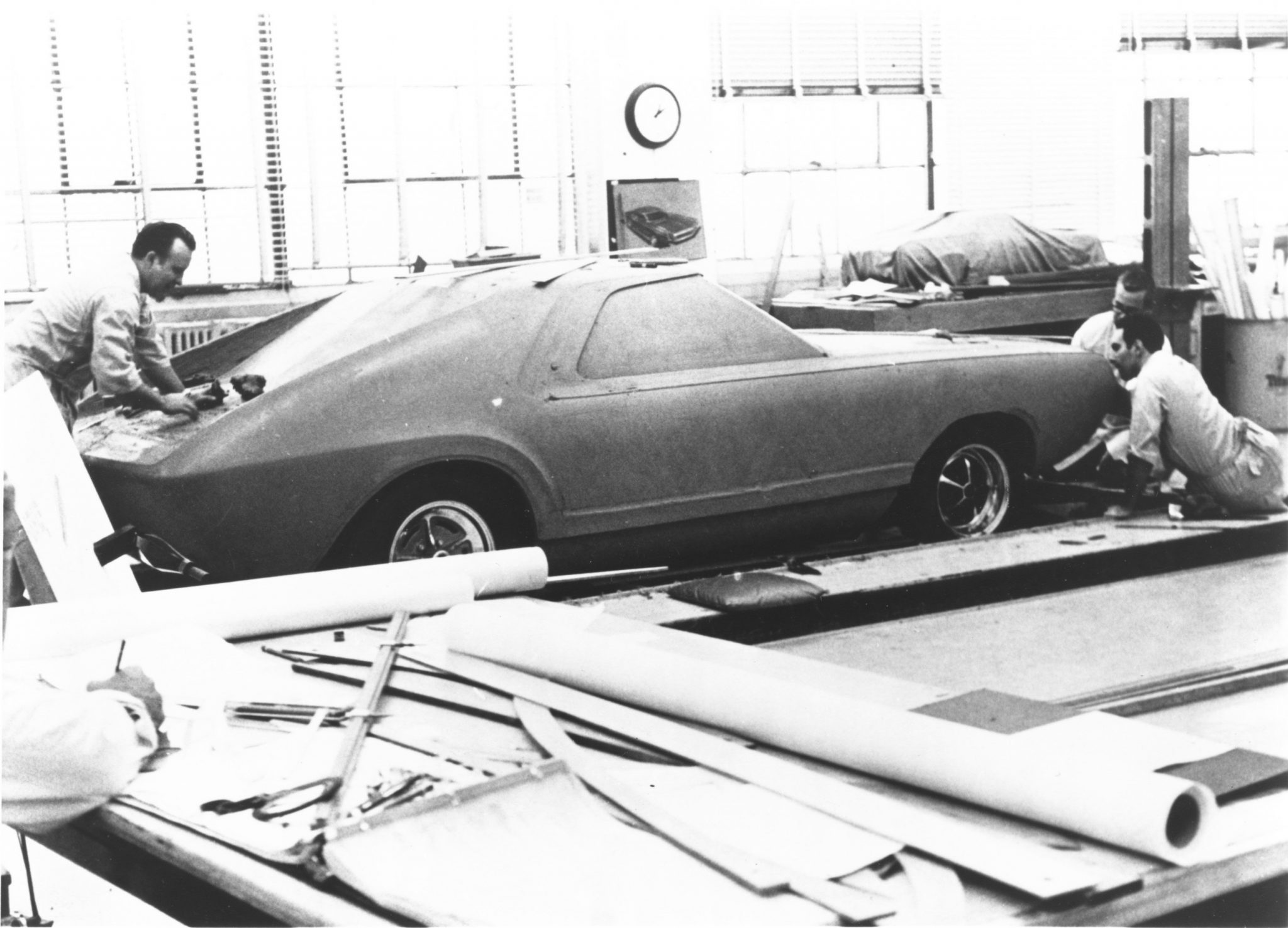 concept AMX clay progress