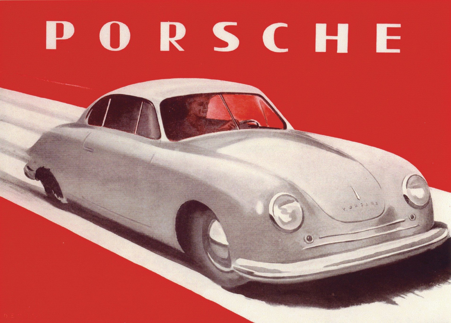 first Porsche sales brochure in 1948 1