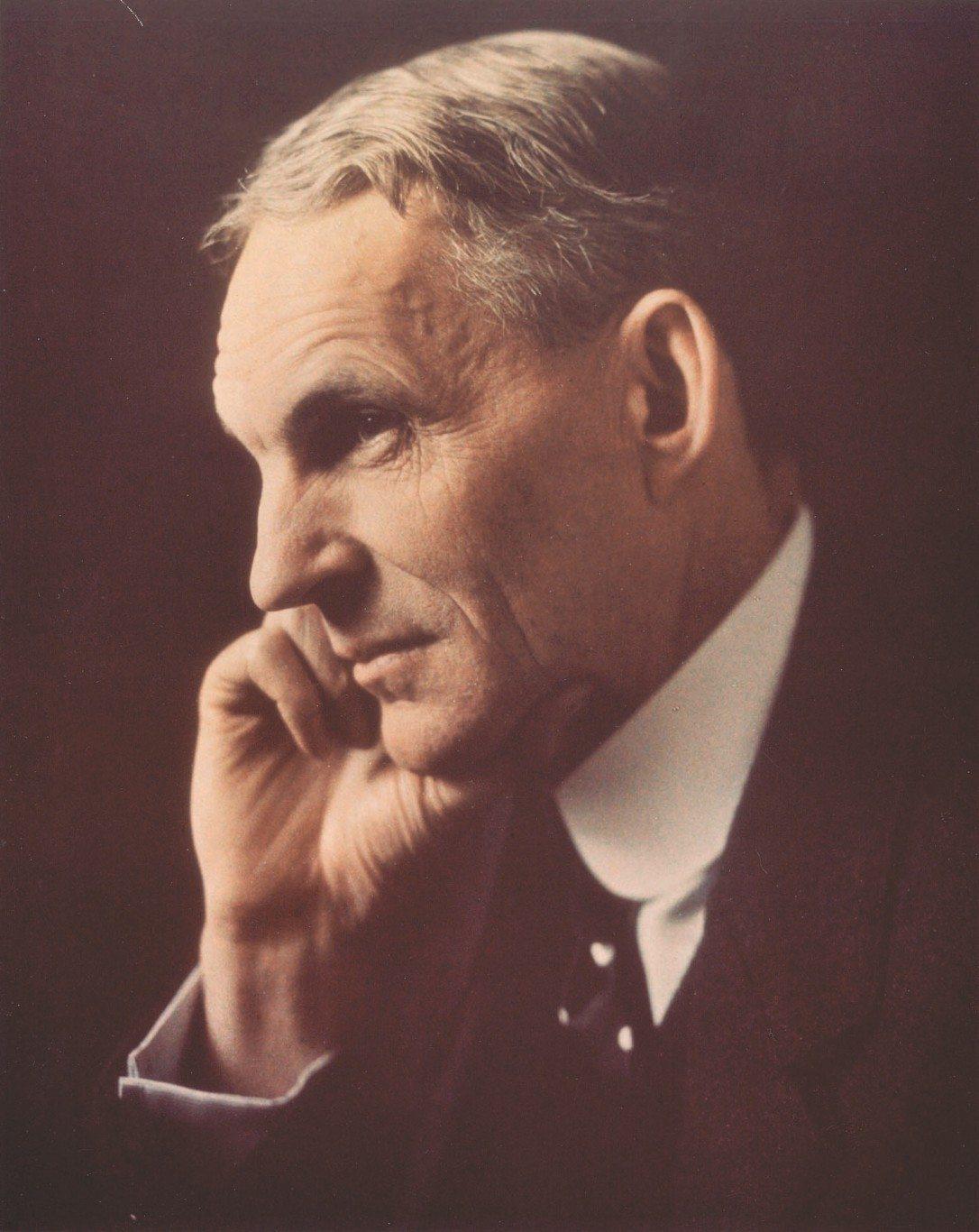 frd100 Henry Ford Portrait