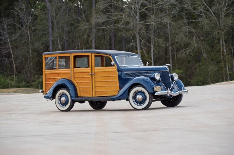 1936 Ford Station Wagon Full View