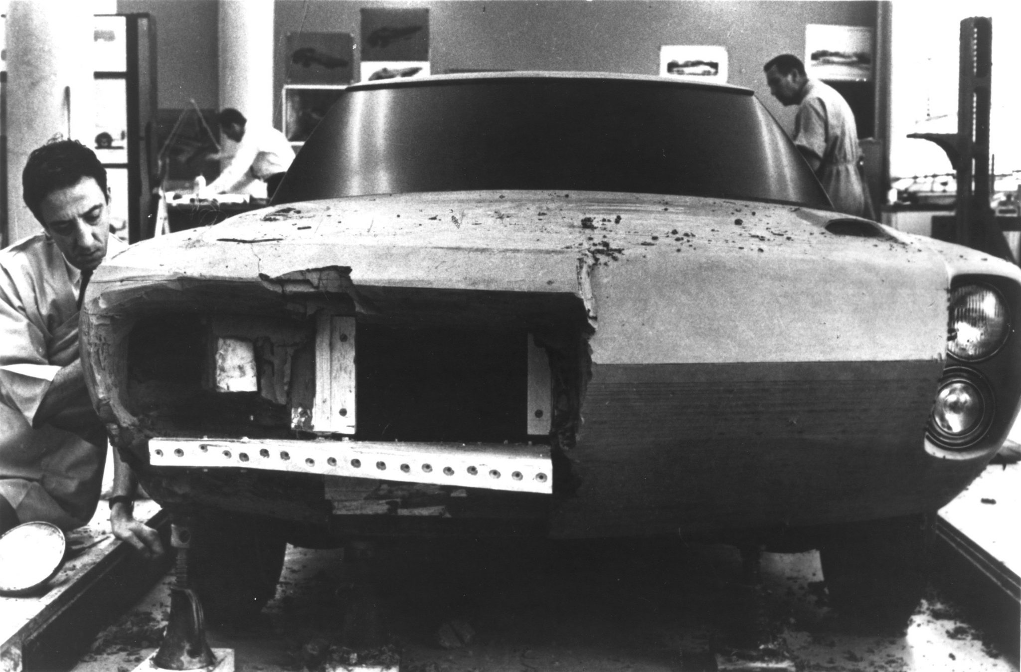 original AMX concept clay model